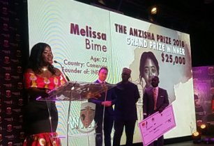 2018 Grand Prize Winner Melissa Bime