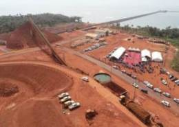 Alpha Conde officially opens Bel Air Mine in Guinea