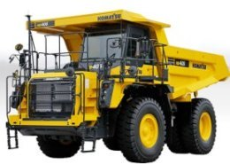 Komatsu America introduces new off-highway trucks for increased production
