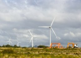 Khobab and Loeriesfontein wind farms power 240000 homes in South Africa