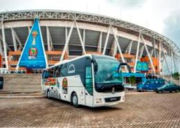 MAN supply buses for African Cup of Nations in Gabon