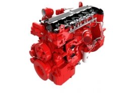 Cummins presents Euro VI grade X12 engine for touring and intercity coaches