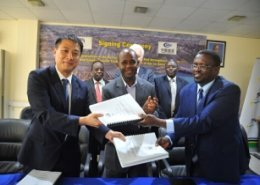 China Habour Engineering Company sign port upgrade contract in Tanzania