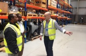 WaterAid and Debre Tabor Water Utility visit UK to experience wastewater treatment