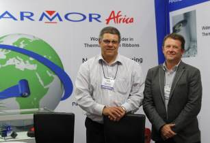 Armor Africa - Roland Pinz left  Andrew Fosbrook right