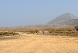 Cape Verde Sal landscape
