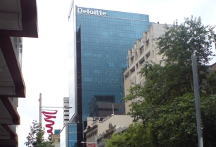 Deloitte Tower Finished Glass Cube II