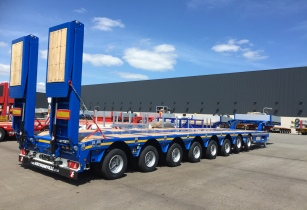 EIght axle MULTIMAX