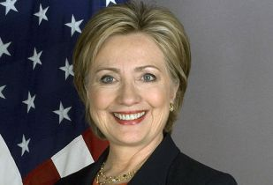 US Secretary of State, Hillary Clinton. (Image source: United States Department of State)