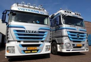 Iveco Mercedes Benz Truck Vistrans b.v. Santpoort