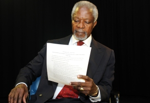Kofi Annan 2013
