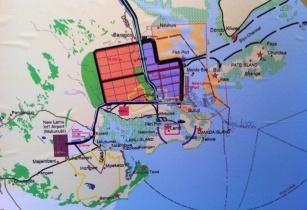 Lamu port map