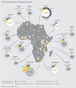 Fdi Values In Africa Hit Five Year High