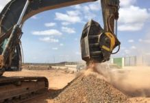 MB crushing equipment plays a vital role in Djibouti project