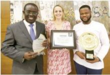 Newmont Ghana receives most compliant taxpayer award