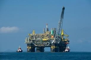 Oil platform P 51 Brazil