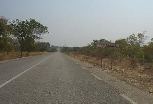 Road Burkina