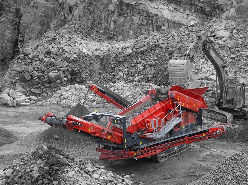 Terex Finlay will display three machines in crushing, screening and conveying range