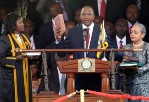 Uhuru Kenyatta Sworn In