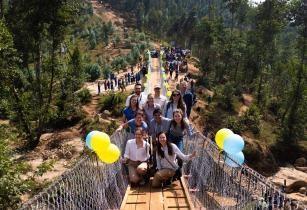 WSP team Kazo bridge