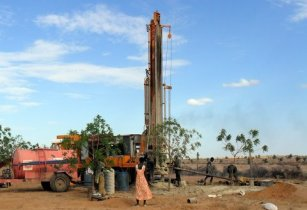 Well drilling Kenya Staff Of Hope