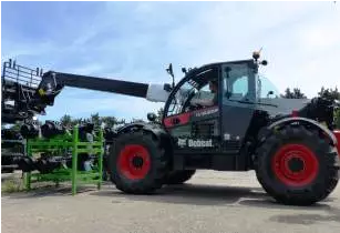 Bobcat targets heavy lift handling with new compact telehandler