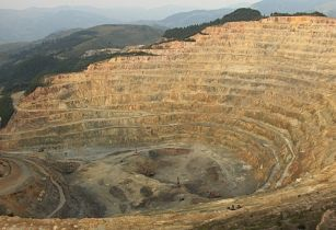 copper open pit Zambia
