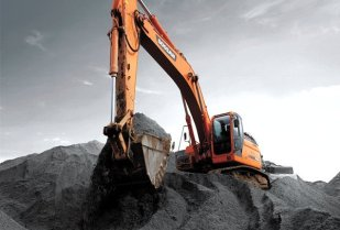 The Doosan DX420LC-3 crawler excavator. (Image source: Doosan)