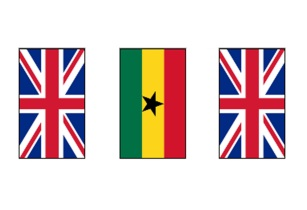 ghana united kingdom 5m friendship flag bunting 42342 p