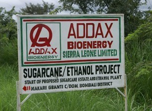 Investment, bioenergy, project, Sierra, Leone, africa, AFDB, Addax Bioenergy Sierra Leone (ABSL) project