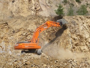 First, Doosan, Heavy Days, event, success, africa, equipment, ADT, DL300, DL450