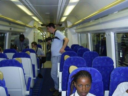Gautrain is smooth, fast, comfortable and safe (Photo: Shine)