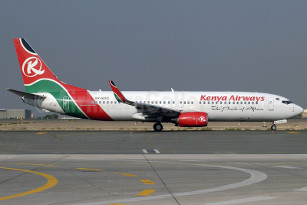 Kenya Airways, Lusaka, Middle East, Jeddah, Saudi Arabia, flights