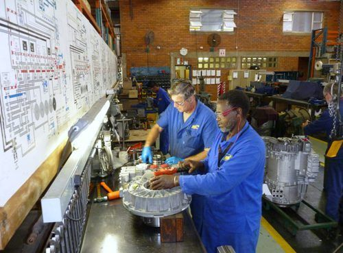 Bell Re-Man Centres focus on high tech components such as engines and transmission components