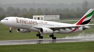 Emirates, Harare, Dubai, UAE, flight, Zimbabwe