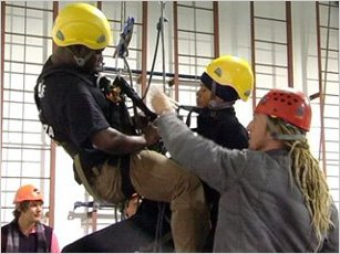 Height Wise, Fall, arrest, rope access, training courses, africa, safety, staff, members, working, South AFrica, OHSA