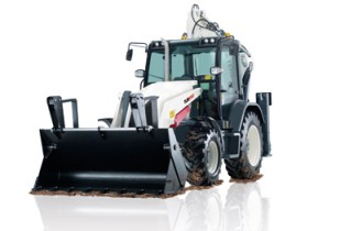 The TLB890 backhoe loader. (Image source: Terex)