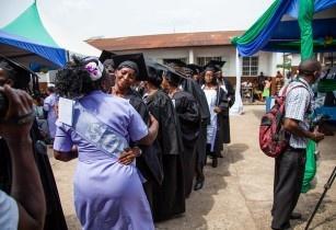 women graduate