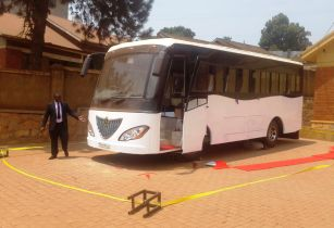 Africas first solar powered bus111