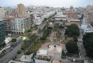 Downtown Tripoli Libya