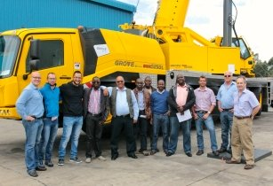 Grove GMK5250L makes its Southern Africa debut at world's richest diamond mine