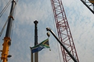 bauma Africa welcomed more than 750 exhibitors from 39 countries. (Image source: Ben Watts)