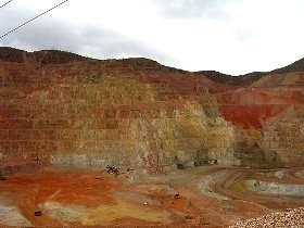 open pit copper mine-RDK